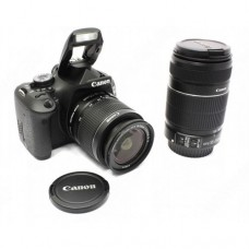 Фотоаппарат CANON EOS 600D Kit 18-55 IS II & 55-250 IS II