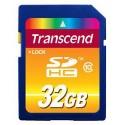 Карта памяти Transcend SD SDHC 32GB Class 10 TS32GSDHC10